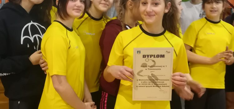 Mistrzostwa Gminne wpiłce ręcznej klas VII, VII iGimnazjum