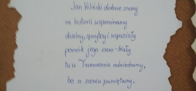 Jan Kiliński – wiersze uczniów