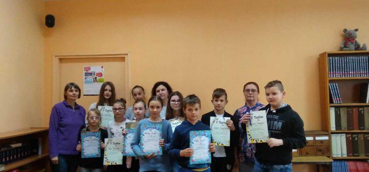 """Międzyszkolny konkurs  czytelniczy """"Wmagicznym świecie Narnii"""" – wyniki"""